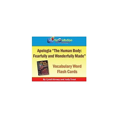 Knowledge Box Central Apologia Human Body Vocabulary Word Flash Cards Science Workbook, Grade 5 - Grade 8 [eBook]