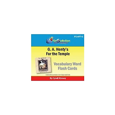 Knowledge Box Central Henty's Historical Novel: For the Temple Vocabulary Flash Cards Workbook, Grade 5 - Grade 12 [eBook]