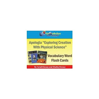 Knowledge Box Central Apologia Exploring Creation With Physical Science Vocabulary Word Flash Cards (1st & 2nd Editions) [eBook]