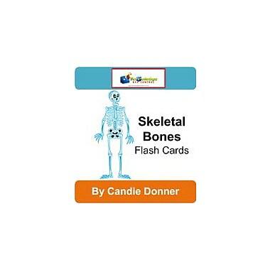 Knowledge Box Central Skeletal Bones Flash Cards Science Workbook, Grade 5 - Grade 8 [eBook]