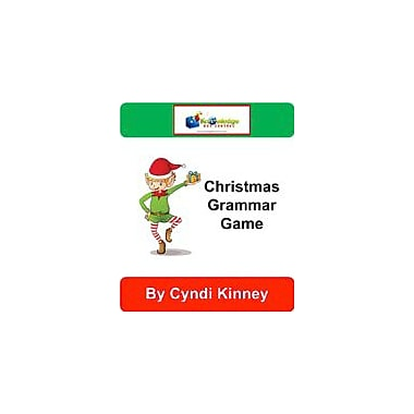 Knowledge Box Central Christmas Grammar Game Puzzles Workbook, Grade 1 - Grade 5 [eBook]