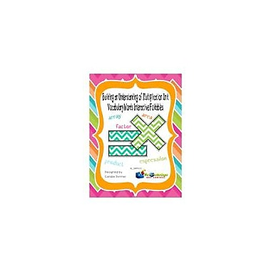 Knowledge Box Central Building An Understanding of Multiplication Unit Vocabulary Interactive Foldables Workbook [eBook]
