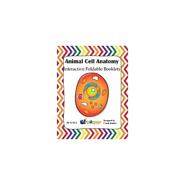 Knowledge Box Central Animal Cell Anatomy Interactive Foldable Booklet Science Workbook, Grade 4 - Grade 10 [eBook]