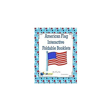 Knowledge Box Central American Flag Interactive Foldable Booklets History Workbook, Kindergarten - Grade 6 [eBook]
