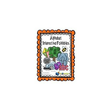 Knowledge Box Central Alphabet Interactive Foldable Booklets- Language Arts Workbook, Kindergarten - Grade 1 [eBook]