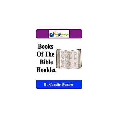 Knowledge Box Central Books of the Bible Booklet Other Workbook, Kindergarten - Grade 6 [eBook]