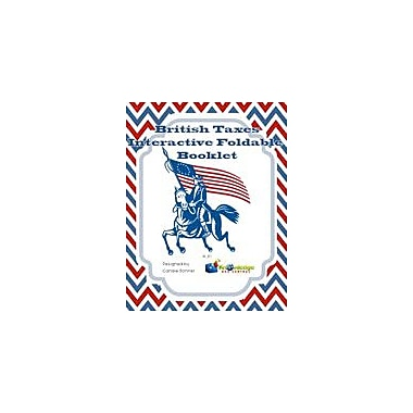 Knowledge Box Central British Taxes Interactive Foldable Booklet History Workbook, Grade 4 - Grade 10 [eBook]