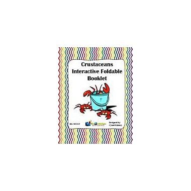 Knowledge Box Central Crustaceans Interactive Foldable Booklet Science Workbook, Grade 4 - Grade 10 [eBook]