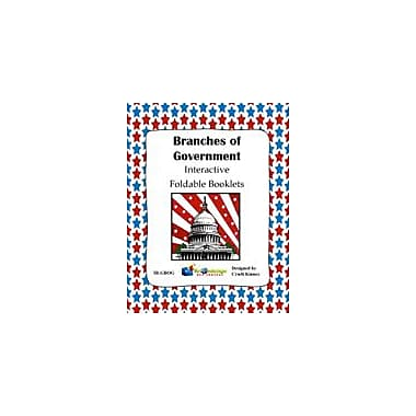 Knowledge Box Central Branches of Government Interactive Foldable Booklet Social Studies Workbook, Grade 4 - Grade 10 [eBook]