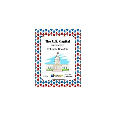 Knowledge Box Central U.S. Capital Interactive Foldable Booklet Geography Workbook, Kindergarten - Grade 6 [eBook]
