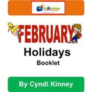 Knowledge Box Central February Holidays Booklet History Workbook, Kindergarten - Grade 6 [eBook]