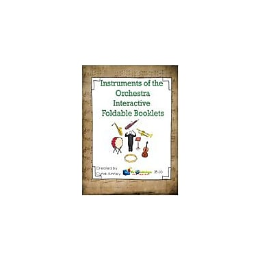 Knowledge Box Central Instruments of the Orchestra Interactive Foldable Booklets Workbook, Kindergarten - Grade 6 [eBook]