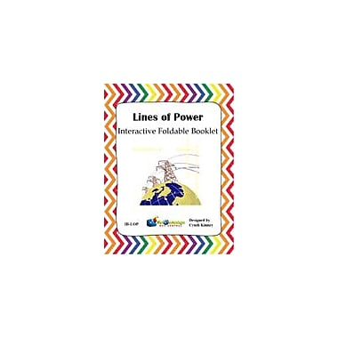 Knowledge Box Central Lines of Power Interactive Foldable Booklet Science Workbook, Kindergarten - Grade 8 [eBook]