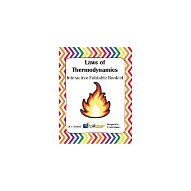 Knowledge Box Central Laws of Thermodynamics Interactive Foldable Booklet Science Workbook, Grade 4 - Grade 10 [eBook]