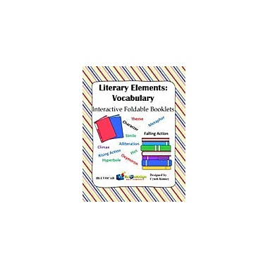 Knowledge Box Central Literary Elements: Vocabulary Interactive Foldable Booklets Workbook, Grade 4 - Grade 10 [eBook]