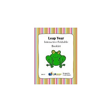 Knowledge Box Central Leap Year Interactive Foldable Booklet History Workbook, Kindergarten - Grade 6 [eBook]