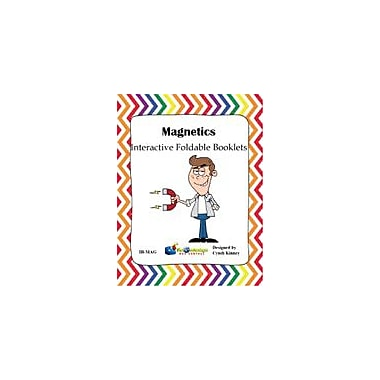 Knowledge Box Central Magnetics Interactive Foldable Booklet Science Workbook, Kindergarten - Grade 6 [eBook]