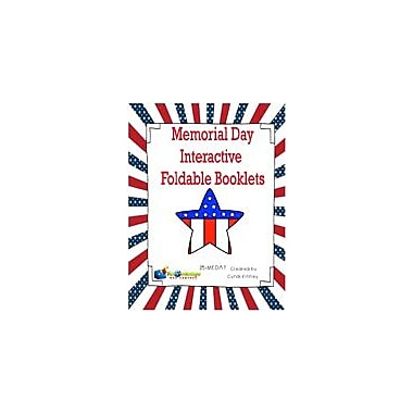 Knowledge Box Central Memorial Day Interactive Foldable Booklets History Workbook, Kindergarten - Grade 6 [eBook]