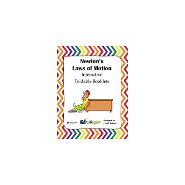 Knowledge Box Central Newton's Laws of Motion Interactive Foldable Booklets (Set of 3) Workbook, Grade 4 - Grade 10 [eBook]