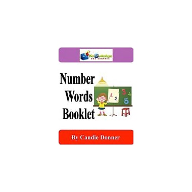 Knowledge Box Central Number Words Booklet Math Workbook, Kindergarten - Grade 2 [eBook]