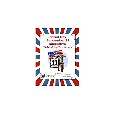 Knowledge Box Central Patriot Day September 11 Interactive Foldable Booklet History Workbook, Grade 1 - Grade 6 [eBook]