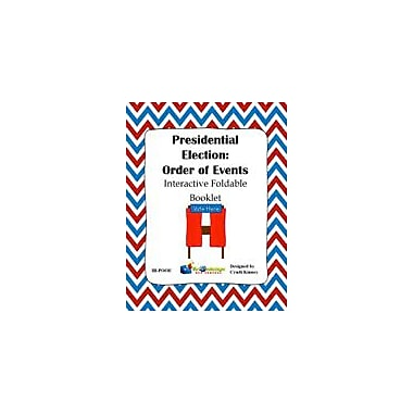 Knowledge Box Central Presidential Election Process: Order of Events Interactive Foldable Booklet Workbook [eBook]