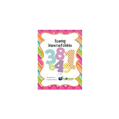 Knowledge Box Central Rounding Interactive Foldable Booklets Math Workbook, Grade 1 - Grade 4 [eBook]