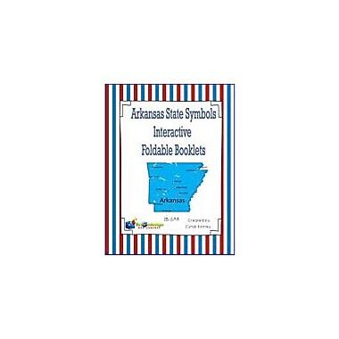 Knowledge Box Central Arkansas State Symbols Interactive Foldable Booklets Geography Workbook, Kindergarten - Grade 8 [eBook]