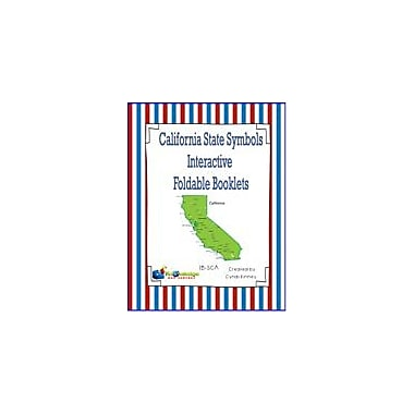 Knowledge Box Central California State Symbols Interactive Foldable Booklets Geography Workbook, Kindergarten - Grade 8 [eBook]