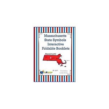 Knowledge Box Central Massachusetts State Symbols Interactive Foldable Booklets Workbook, Kindergarten - Grade 8 [eBook]