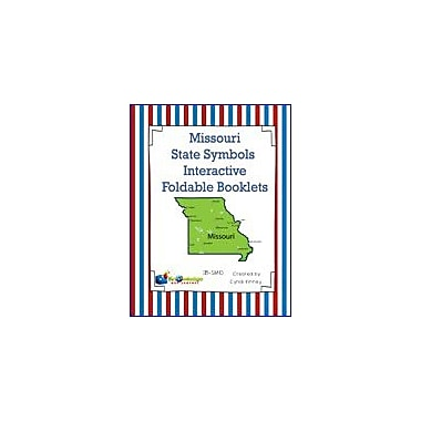 Knowledge Box Central Missouri State Symbols Interactive Foldable Booklets Geography Workbook, Kindergarten - Grade 8 [eBook]