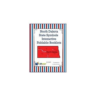 Knowledge Box Central North Dakota State Symbols Interactive Foldable Booklets Workbook, Kindergarten - Grade 8 [eBook]