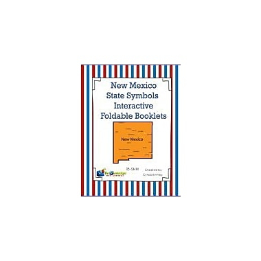 Knowledge Box Central New Mexico State Symbols Interactive Foldable Booklets Geography Workbook, Kindergarten - Grade 8 [eBook]