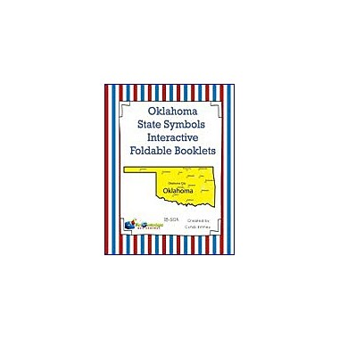 Knowledge Box Central Oklahoma State Symbols Interactive Foldable Booklets Geography Workbook, Kindergarten - Grade 8 [eBook]