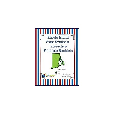 Knowledge Box Central Rhode Island State Symbols Interactive Foldable Booklets Workbook, Kindergarten - Grade 8 [eBook]