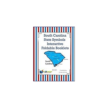 Knowledge Box Central South Carolina State Symbols Interactive Foldable Booklets Workbook, Kindergarten - Grade 8 [eBook]