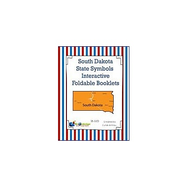 Knowledge Box Central South Dakota State Symbols Interactive Foldable Booklets Workbook, Kindergarten - Grade 8 [eBook]