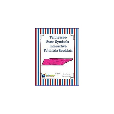 Knowledge Box Central Tennessee State Symbols Interactive Foldable Booklets Geography Workbook, Kindergarten - Grade 8 [eBook]