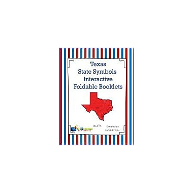 Knowledge Box Central Texas State Symbols Interactive Foldable Booklets Geography Workbook, Kindergarten - Grade 8 [eBook]