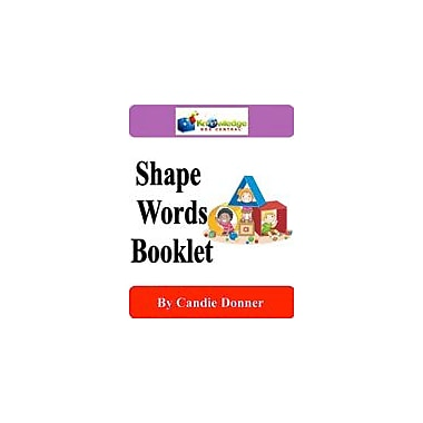 Knowledge Box Central Shape Words Booklet Language Arts Workbook, Preschool - Grade 1 [eBook]
