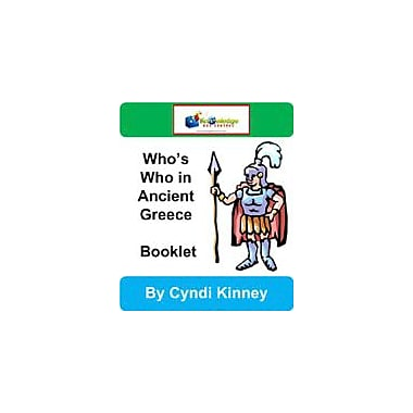 Knowledge Box Central Who's Who In Ancient Greece Booklet History Workbook, Kindergarten - Grade 8 [eBook]