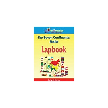 Knowledge Box Central The Seven Continents: Asia Lapbook Geography Workbook, Kindergarten - Grade 8 [eBook]