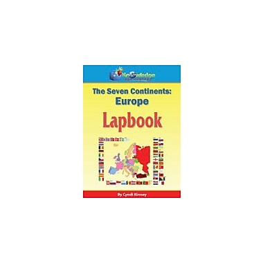 Knowledge Box Central The Seven Continents: Europe Lapbook Geography Workbook, Kindergarten - Grade 8 [eBook]