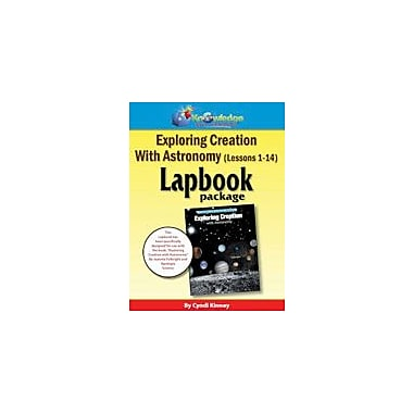 Knowledge Box Central Exploring Creation With Astronomy Lapbook Package (Lessons 1-14) Workbook, Preschool - Grade 8 [eBook]
