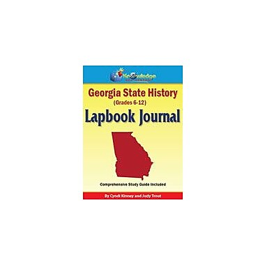 Knowledge Box Central Georgia State History Lapbook Journal Social Studies Workbook, Grade 6 - Grade 12 [eBook]