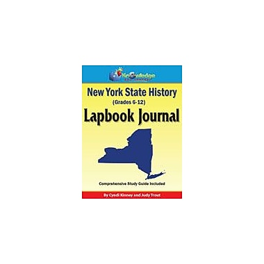 Knowledge Box Central New York State History Lapbook Journal Social Studies Workbook, Grade 6 - Grade 12 [eBook]