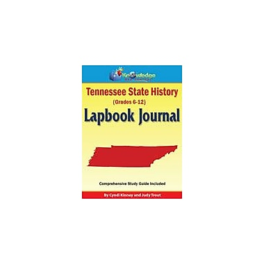 Knowledge Box Central Tennessee State History Lapbook Journal Social Studies Workbook, Grade 6 - Grade 12 [eBook]