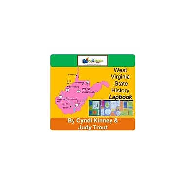Knowledge Box Central West Virginia State History Lapbook Social Studies Workbook, Kindergarten - Grade 8 [eBook]