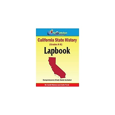 Knowledge Box Central California State History Lapbook Social Studies Workbook, Kindergarten - Grade 8 [eBook]
