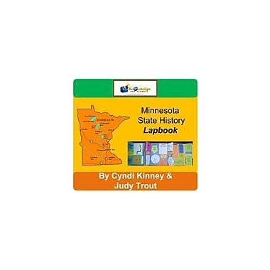 Knowledge Box Central Minnesota State History Lapbook Social Studies Workbook, Kindergarten - Grade 8 [eBook]